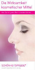 Cover haut.de Broschüren-Center: Die Wirksamkeit kosmetischer Mittel