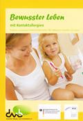 """Cover Broschüre """"Bewusster Leben mit Kontaktallergien"""""""