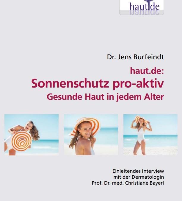 "E-Book ""Sonnenschutz pro-aktiv"""