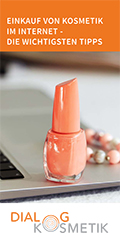 """Cover Broschüre """"Einkauf von Kosmetik im Internet - Die wichtigsten Tipps"""""""