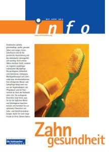 Cover Broschüren-Center: Zahngesundheit