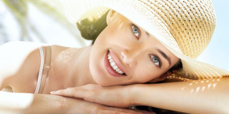 Make-up verlaufen… Hitze, Sonne, Schwitzen