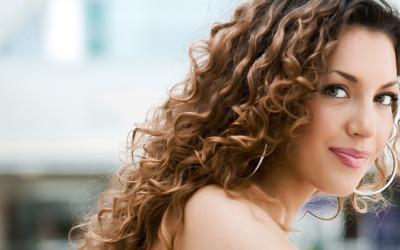 Ausgetrocknetes Haar