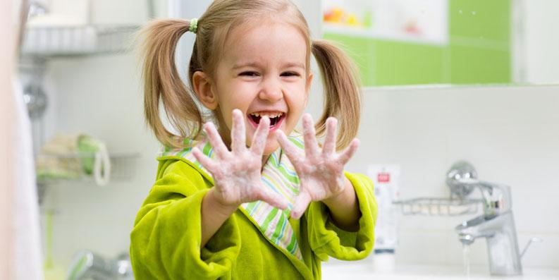 Schutz vor Erkältungen – Händewaschen ist wirkungsvoll
