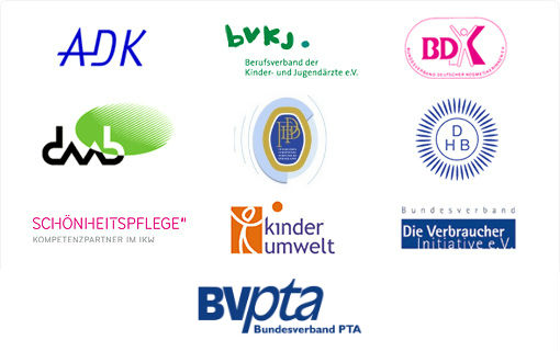 Logos der Kooperationspartner von haut.de
