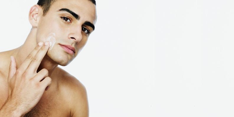 Rasur bei sensibler Haut
